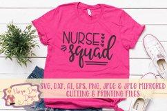 Nurse Squad SVG, DXF, AI, EPS, PNG, JPEG Product Image 1