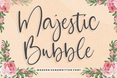 Majestic Bubble Modern Handwritten Font Product Image 1