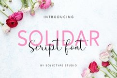 Solidar Font Family Product Image 2