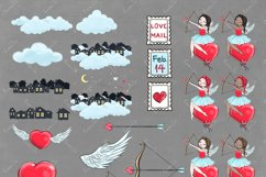 Love is in the air - Clipart Product Image 5