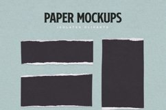 Torn Paper Cliparts & Mockups Product Image 5