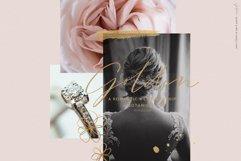 Golden, a romantic wedding script font Product Image 5