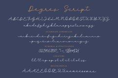 Degres Monoline Script Product Image 4