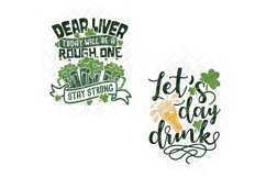 St Patricks Day Drinking SVG in SVG, DXF, PNG, EPS, JPEG Product Image 3