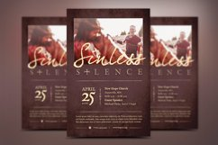 Sinless Church Flyer Template Product Image 2