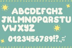 Cute Monsters – A Spookily Cute Halloween Font Product Image 3