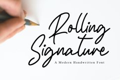Rolling Signature Product Image 1