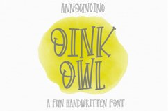 Oink Owl Product Image 1