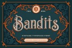 Bandits Vintage Font Product Image 1