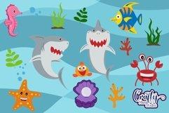 Baby Shark Svg, Shark Bundle Svg, Sublimation, Cut File Product Image 1