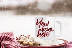 Winter mug mock-up bundle - 8 jpeg mockups Product Image 2