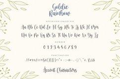 Goldie Rainbow Modern Handwritten Font Product Image 6
