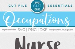 Nurse practitioner svg - an NP svg with heart for crafters Product Image 4