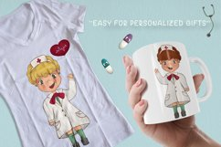 DoctorClipart Medical Clipart Hospital Clipart Nurse Graphic Product Image 2