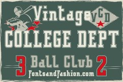 Vintage College Dept_Outline Product Image 1