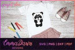 PRIMROSE THE PANDA SVG MANDALA / ZENTANGLE 3 DESIGNS Product Image 6