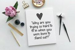 Web Font Rachellina - Handwritten Casual Font Product Image 4