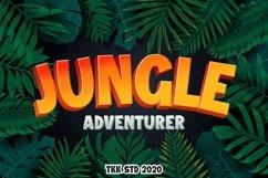 Jungle Adventurer - Gaming Font Product Image 1