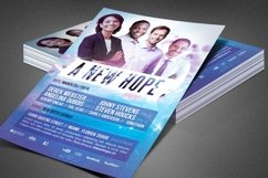A New Hope Church Flyer Template Product Image 1