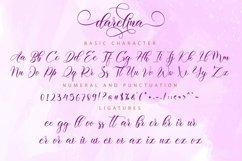 Darelina Script Product Image 11