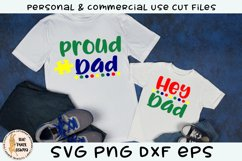 Proud Dad - Hey Dad Autism SVG Product Image 1