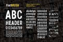 Flat Brush Font Product Image 4