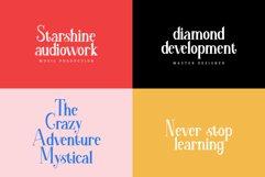 mikazora || Beautiful Display Font Product Image 4