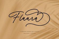 Flaura - A Modern Monoline Script Product Image 1