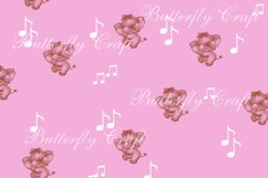 Sweet dreams digital paper, Baby shower paper Product Image 5