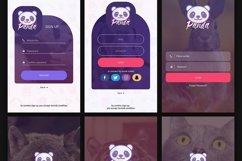 Panda Mobile UI Kit Product Image 2