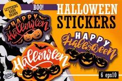 Halloween label set Product Image 1