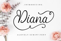 Diana script Product Image 1