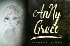 Anny Grace Handbrush Typeface Product Image 1