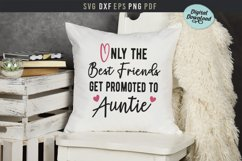 Only the best friends get promoted to auntie, baby, pregnant Product Image 3