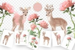 Deer and Roses Product Image 2