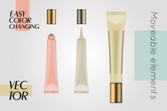 Vector realistic bottles set collection mockup pt.3 Product Image 4