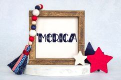Independence Day - A Hand-Drawn 4th of July Font Product Image 3
