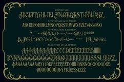 Blackphanter display font Product Image 3