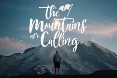 Mountain Script - Brush Fonts Product Image 2