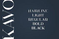 Kavo Styled Serif Typeface | 5 fonts Product Image 2