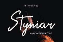 Styniar Font Product Image 1