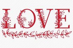 Love SVG, Cut File, Valentines Shirt Design Product Image 2