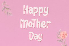 We Love Mom - Playful Font Product Image 6