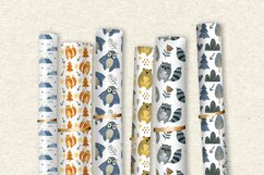 Watercolor forest friends graphic collection. Product Image 5