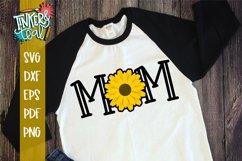 Mom Sunflower SVG Sublimation Product Image 1