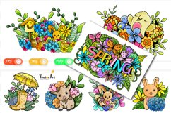 7x Easter and Spring - Mini Bundle - Print and Sublimation Product Image 1