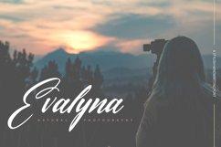 Alvyana Fianiz   A Stylsih Handwritten Font Product Image 4