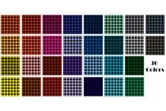 Buffalo Plaid Digital Paper - Buffalo Check Plaid Patterns Product Image 2