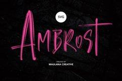Angelic SVG Brush Font Product Image 2