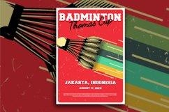 83 Badminton Flyer Product Image 1